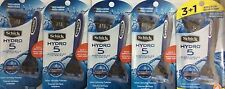 ✦ NEW ✦16 SCHICK HYDRO 5 DISPOSABLE RAZORS/JETABLES 5 PACKS ✦SALE✦FREE SHIPPING✦