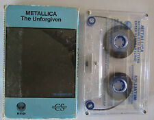 METALLICA THE UNFORGIVEN ULTRA RARE AUSTRALIAN RELEASE CASSINGLE TAPE