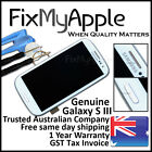 Samsung Galaxy S III S3 3G i9300 White LCD Touch Screen Digitizer Frame Assembly