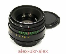 Russian Helios-44-2 lens 2/58 mm for Zenit Canon M42 mount.Excellent+.№83158885