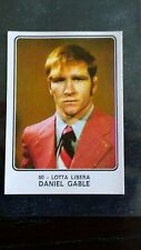 Daniel Gable ROOKIE Panini Campioni Dello Sport 1973-74 - Good/Fair Condition