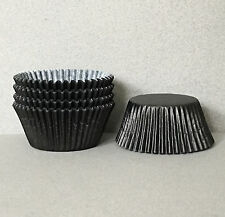 Black Cupcake Liners, Black Cupcake Wrappers, Black Baking Cups