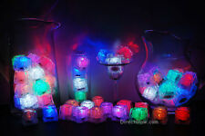Set of 72 Litecubes Brand Assorted Light up LED Ice Cubes