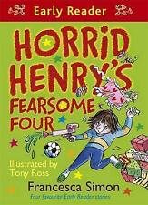 NEW  HORRID HENRY FEARSOME FOUR - EARLY READER stories Nits Football Underpants