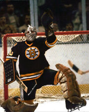 Boston Bruins GERRY CHEEVERS Glossy 8x10 Photo Print Hockey Poster HOF 85