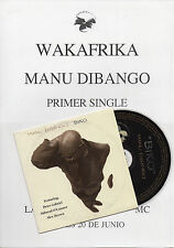 "MANU DIBANGO ""BIKO"" SPANISH PROMOCD SINGLE+INFO SHEET / PETER GABRIEL - O'CONNOR"