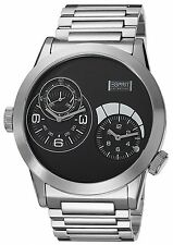 XXL BIG Esprit Collection Herrenuhr Uhr Zelos black Ø48mm Edelstahl EL101271F05