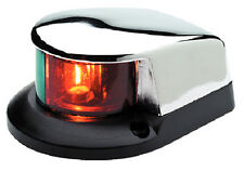 Bi-Color Combination Deck Mount Bow Navigation Light for Boats - 1 Mile