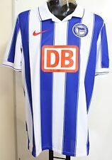 HERTHA BSC BERLIN 2009/10 S/S HOME SHIRT BY NIKE SIZE XXL BRAND NEW WITH TAGS