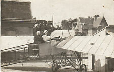 Carte photo ancienne avion aéroplane