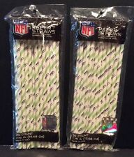 Seattle Seahawks NFL Paper Drink Straws Party 2 Packages 48 Count Football