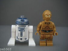 Lego Figurine Minifig Star Wars - R2-D2 & C-3PO Neufs New / Set 75136