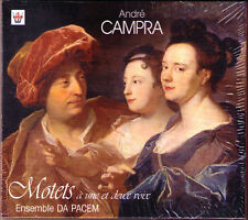Andre CAMPRA 1660-1744 Motets ENSEMBLE DA PACEM Arion CD Pierre-Adrien Charpy