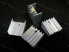 15pcs 15x10x16mm TO-220 Power Transistor Aluminum Heat Sink Mosfet 7805 7812