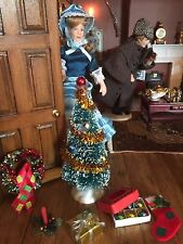Dolls House Miniature Xmas Tree plus extras quality