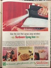 Vintage 1964 Sunbeam Australian Print Advertisement Australiana AD