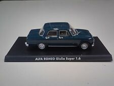VOITURE 1/43 NOREV ALFA ROMEO GIULIA SUPER1.6 MINIATURE COLLECTION ITALIENNE IT5