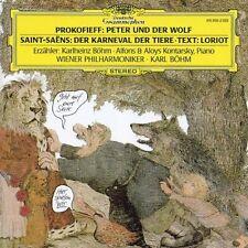 Prokofiev: Peter und der Wolf / Saint Saens : Karneval der Tiere  KARL BÖHM