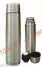 Stainless Steel Thermos 18/8,1 Liter-1000 Mil, 32 Oz Hot/Cold Coffee Tea Soup