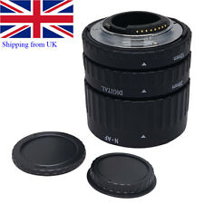 UK Mcoplus Metal Auto Focus Macro Extension Tube for Nikon AF AF-S DX FX Camera