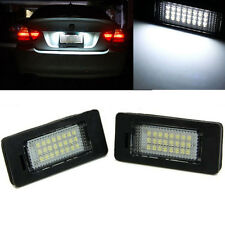 2x 24 LED License Plate Number Lights For BMW E90 M3 E92 E70 E39 F30 E60 E61 E93