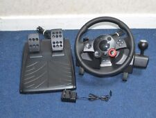 Logitech Force GT Racing volante Driving + Pedales para PC, PS2, PS3