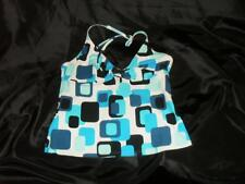 WOMEN'S SWIM WEAR SWIMSUIT TOP BEACH WEAR SUN BATHING  SIZE 12 OCEAN DREAMS