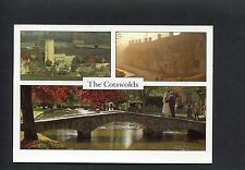 View Of Chipping Campden, Bidury And Bourton. Stamp/Postmark 1997.