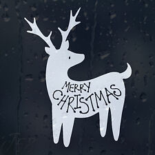 Funny Merry Christmas Dear Car Decal Vinyl Sticker