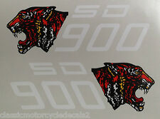 DUCATI DARMAH SD900 SIDE PANEL DECALS