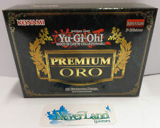 GCC Gioco Game Yu Gi Oh ITALIANO ITA IT Nuovo New Sealed Serie - PREMIUM ORO - -