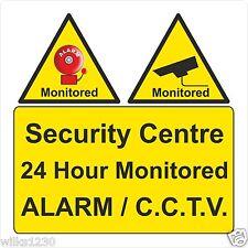 Cctv en funcionamiento Centro de seguridad 24 horas, control de alarma y Cctv Signo