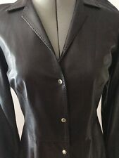 Dress Leather Size 6 Ralph Lauren Black Label Cocktail Tailored FLEXIBLE SELLER