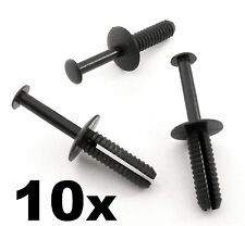 10x BMW 6mm Push Fit Plastic Rivet Pin Clip- Bumpers, Interior Trim Panel Fascia