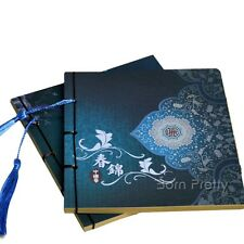 Chinese Pattern Thread Spring Notebook Retro Vintage Binding Diary Journal 1 Pc