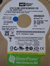 Western Digital WD6400AACS-00G8B0 | HGRNHTJMBN | 31 AUG 2008  640GB disco rigido
