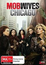 MOB WIVES CHICAGO  : SEASON 1 - DVD - UK Compatible  - Sealed