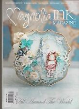 MAGNOLIA INK MAGAZINE #4 2013, Rubber Stamp Scrapbooking, English Paperback.
