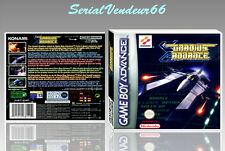 "BOITIER DU JEU ""GRADIUS ADVANCE"", GAME BOY ADVANCE, FR. SANS LE JEU."