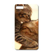 CUSTODIA COVER CASE GATTO AMORE LOVE CUCCIOLO BAFFI PER IPHONE 5 5S 5G