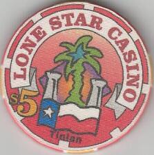 LONE STAR  NM  $5 TINIAN   CASINO   CHIP