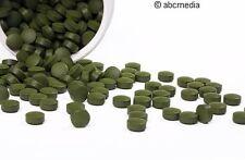500g Algas Afa, 2.000 Comprimidos Pastillas, 100% puro, Calidad alimentos crudos