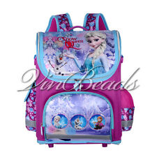 NEW Frozen Elsa Snow Queen Children Backpack Student School Bag Travel Backpack