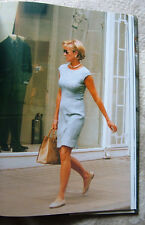 Princess Diana Her Life in Fashion HC Book photos every page near fine condition