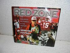 Red Zone : Greatest Victories in the History of Nebraska Football Hardback Book