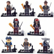 Pirates of the Caribbean 8 FIG/Lots Mini figures Building Blocks Bricks TOY lEGO