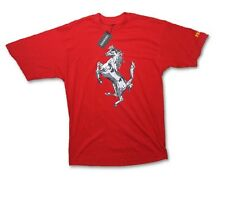 T-SHIRT Tee Formula 1 Scuderia Ferrari F1 Team New! Silver Horse Graphic Red XL
