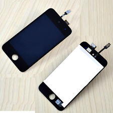 A+ For iPod Touch 4 4th  Black Touch Digitizer LCD Screen Glass Full Assembly