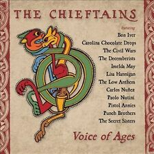 CHIEFTAINS Voice of Ages SEALED CD BON IVER Decemberists CIVIL WARS Paolo Nutini