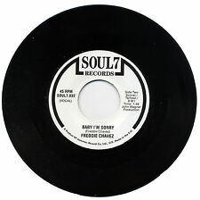"FREDDIE CHAVEZ  ""BABY I'M SORRY""    SUPERB NORTHERN SOUL    LISTEN!"
